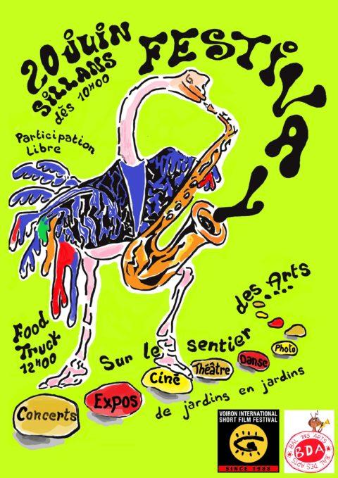 Festival Sur le sentier des arts de Sillans le 20 juin 2020