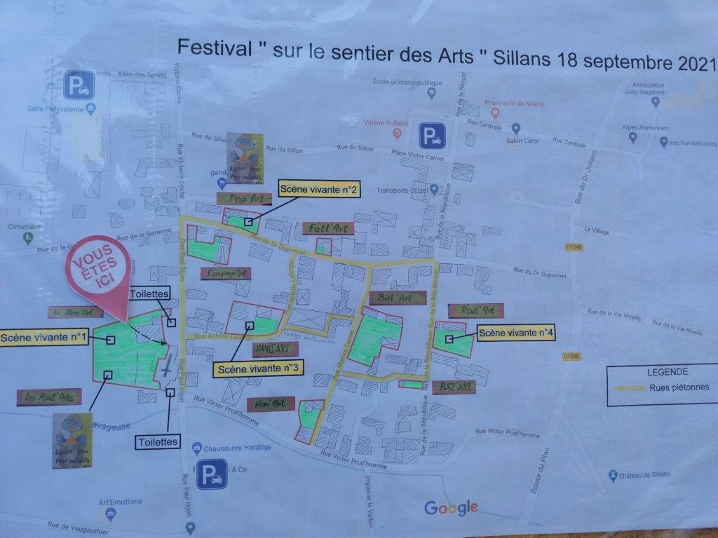 plan du festival 2021